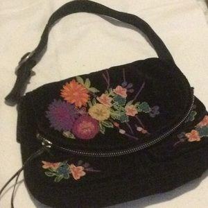 Lucky Brand velvet purse